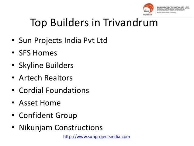 Top Builders in Trivandrum
