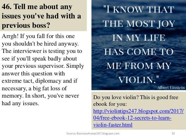 Delightful 52Source: BusinessAnalyst247.blogspot.com; 53. 46. Tell Me ...