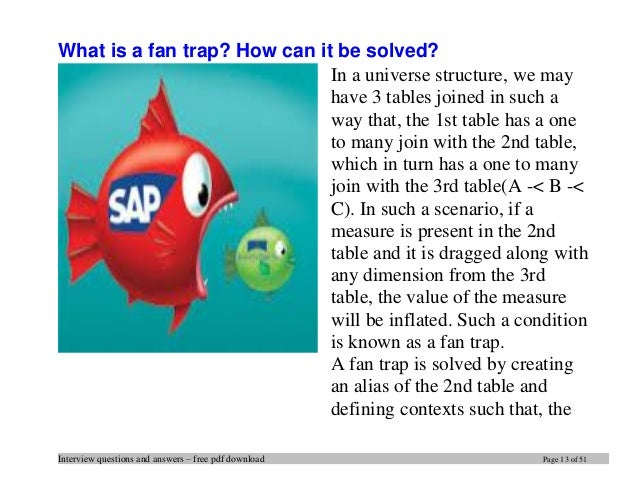 Top 20 business objects interview questions and answers pdf ebook fre…