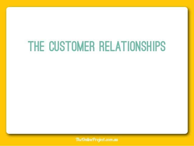 Business plan for existing customers
