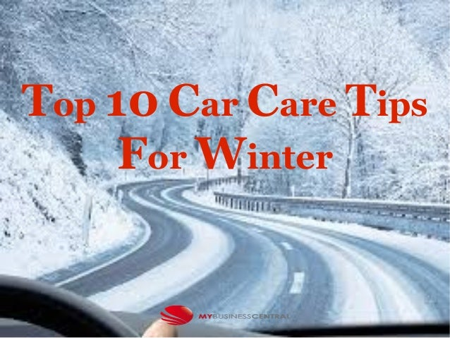Top 10 Car Care Tips For Winter