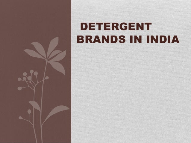 washing powder brands in india