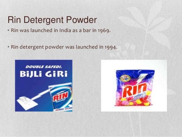 washing powder brands in india