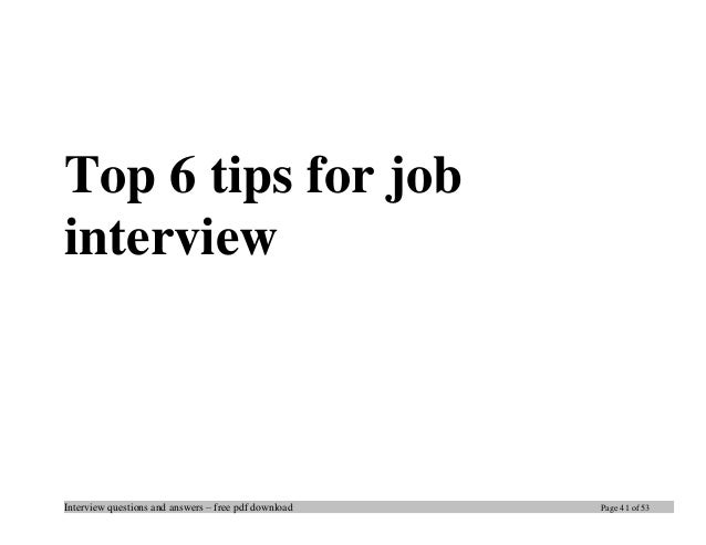 Top 19 civil engineering interview questions and answers