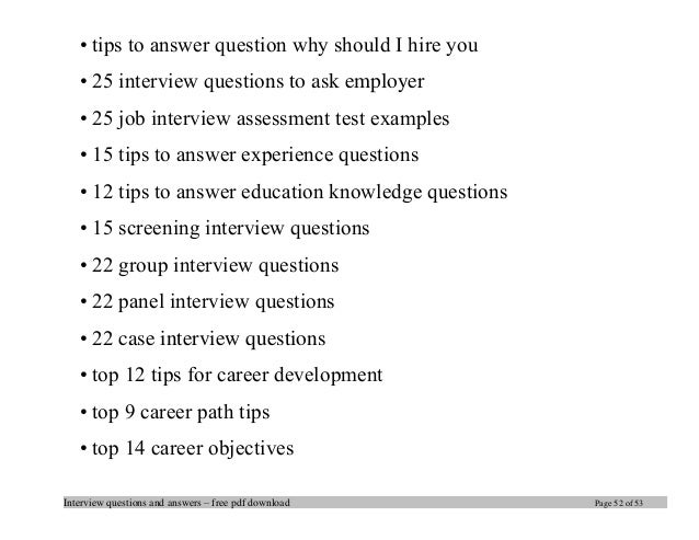 Exceptional Interview Questions ...