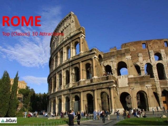 ROME Top (Classic) 10 Attractions 1www.joguru.com
