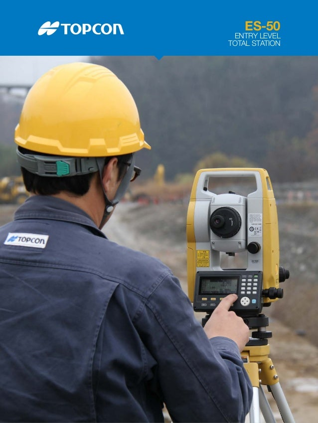 ES-50 ENTRY LEVEL TOTAL STATION