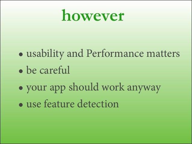 Breaking Limits on Mobile HTML5 - TopConf Tallinn
