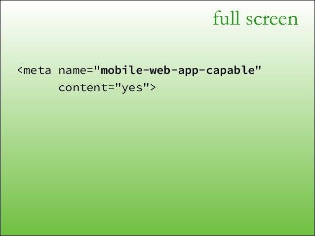 full screen var body = document.documentElement; !  if (body.requestFullScreen) { body.requestFullScreen(); } else if (bod...