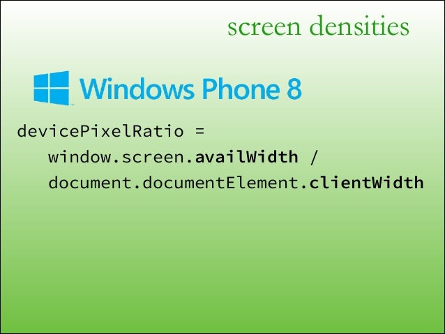 """screen densities <div id=""""photoContainer""""> @media (-webkit-min-device-pixel-ratio: 1.5) { #photoContainer { background-ima..."""