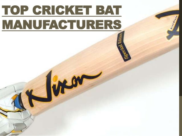 TOP CRICKET BATMANUFACTURERS