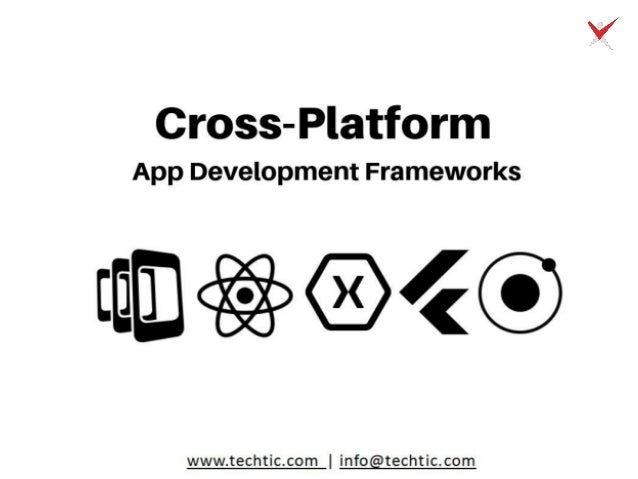 Top Cross Platform App Development Frameworks