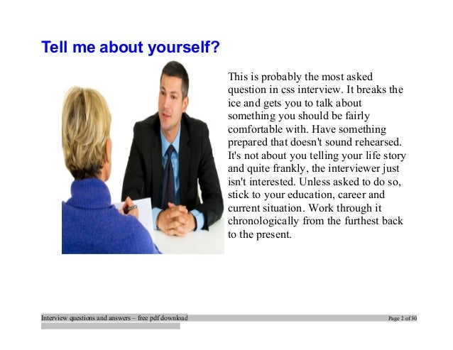 top css interview questions and answers job interview tips