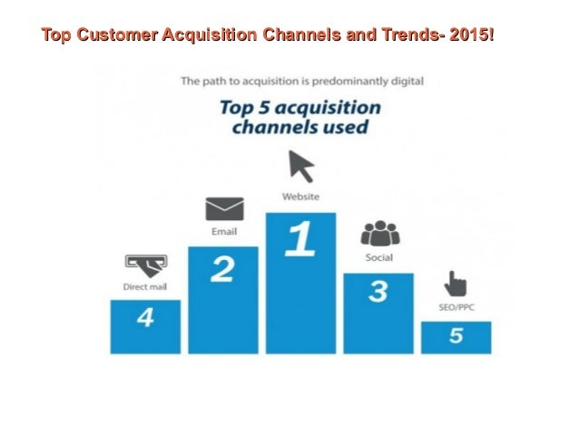 Data Acquisition And Trending : Top customer acquisition channels and trends