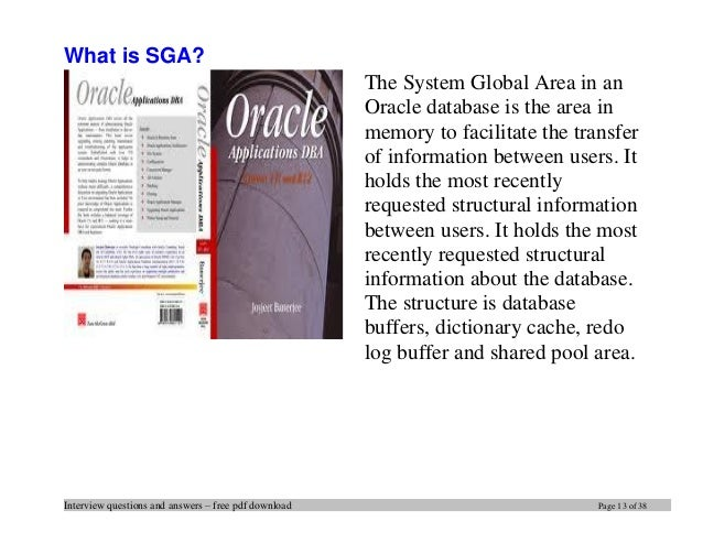 Oracle Dba Interview Questions And Answers Pdf