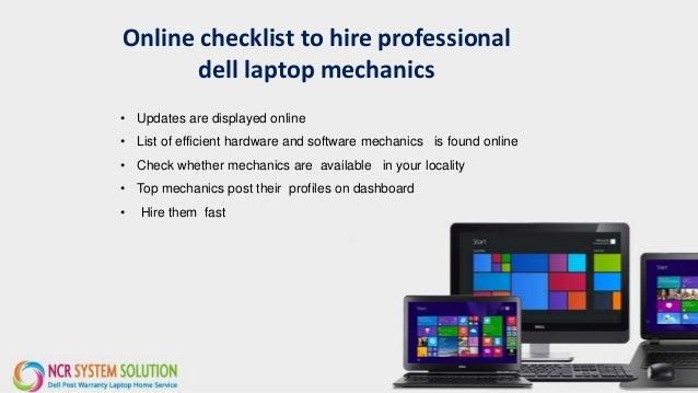 laptop maintenance checklist