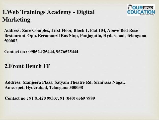 Top digital marketing coaching in hyderabad Slide 2