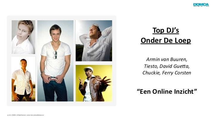 Top DJ's                                                                              Onder De Loep               ...