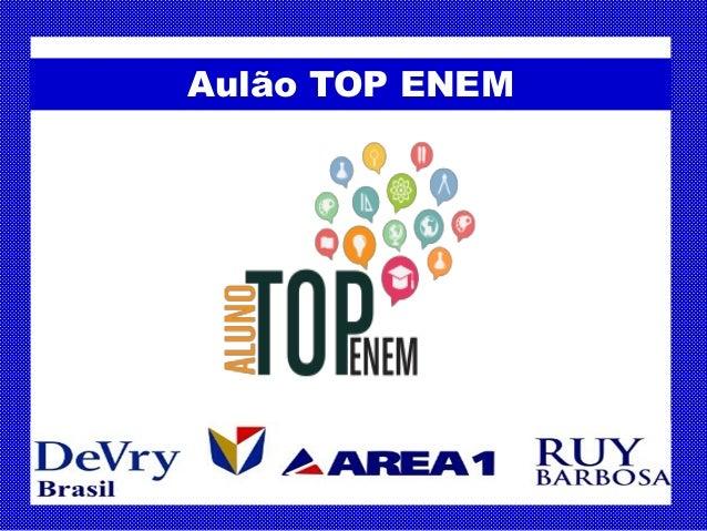 Aulão TOP ENEM