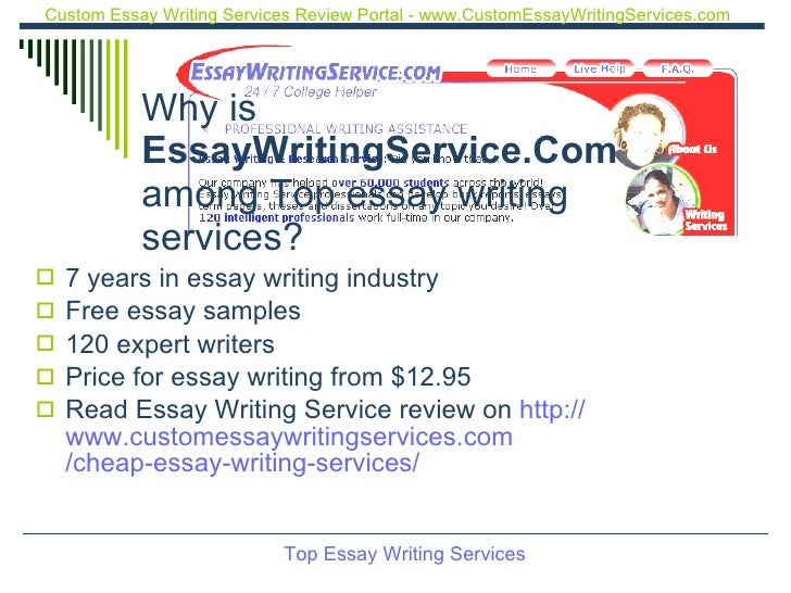 Top 5 essay writing services hours