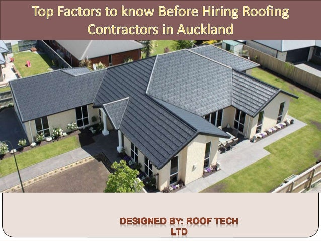 Once you set your mind and finances ready to get your home built or remodeled, you will need to find a great roofing contr...