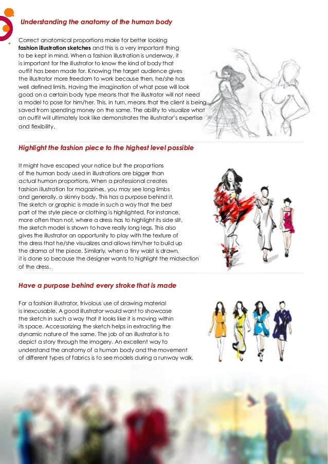 Understanding the anatomy of the human body Correct anatomical proportions make for better looking fashion illustration sk...