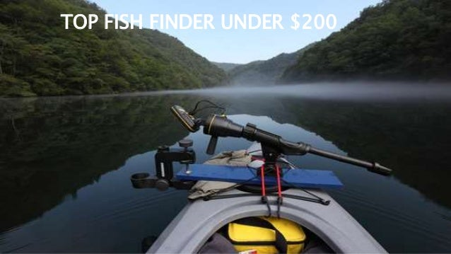 top fish finder under 200