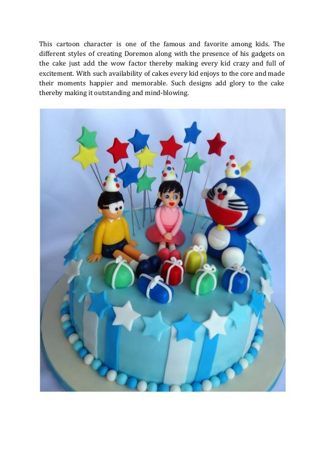 Top Five Cartoon Cake For Kid S Birthday