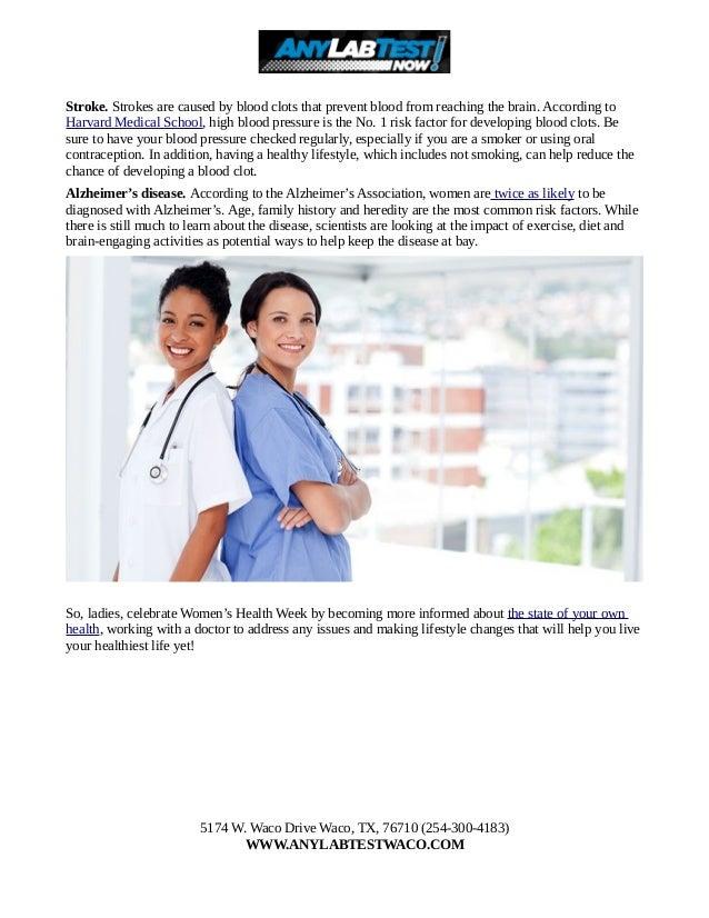 Top Five Diseases That Affect Women's Health Slide 2