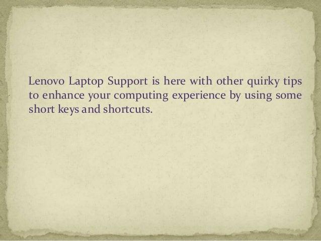 Top Five Lenovo Laptop Keyboard Tips