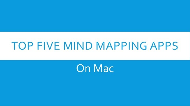 top five mind mapping apps on mac - Mind Map App For Mac