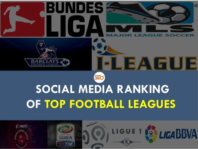 SOCIAL MEDIA RANKING OF TOP FOOTBALL LEAGUES SOCIAL MEDIA RANKING OF TOP FOOTBALL LEAGUES