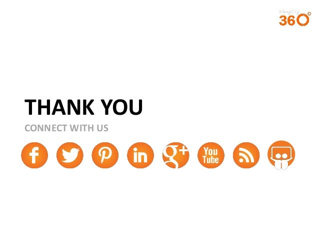 THANK YOU CONNECT WITH US