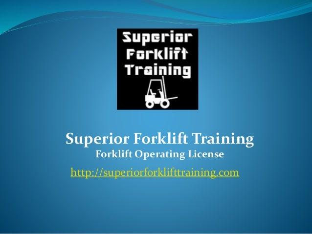 Top forklift certification classes online