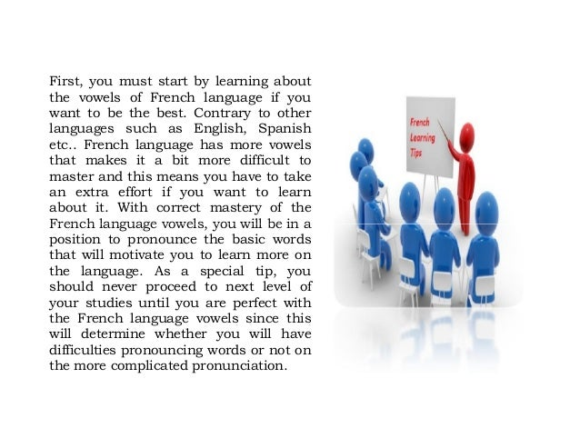 Top french language learning tips