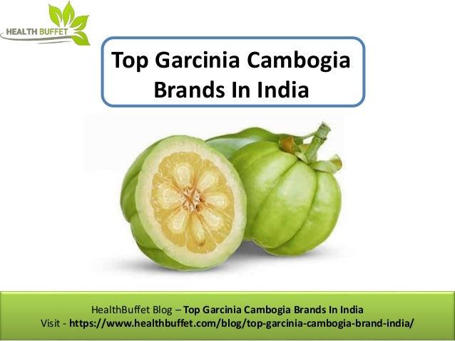 Top Garcinia Cambogia Brands In India