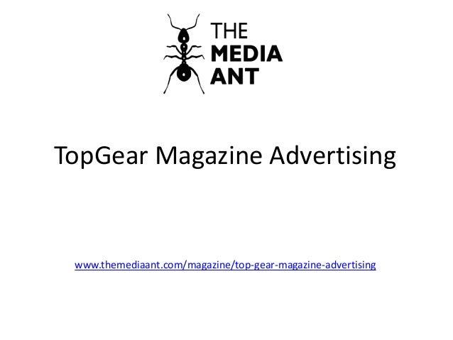 TopGear Magazine Advertising www.themediaant.com/magazine/top-gear-magazine-advertising