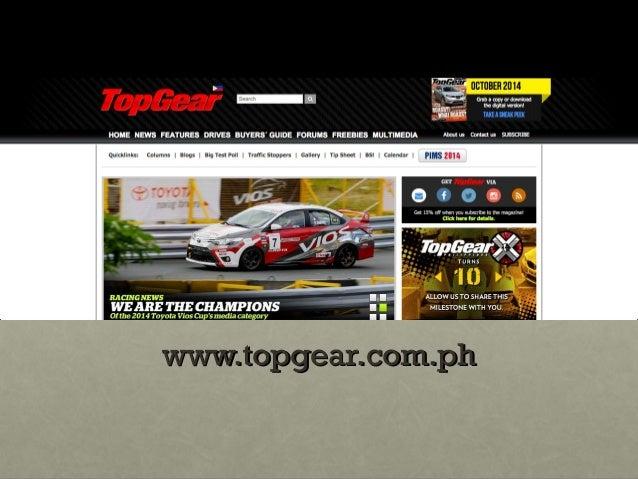 Top Gear Magazine Feature
