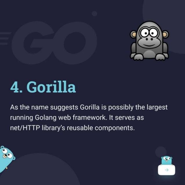 Top Golang Frameworks for Web Development
