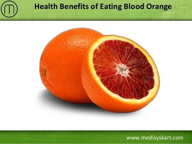 www.medisyskart.com Health Benefits of Eating Blood Orange