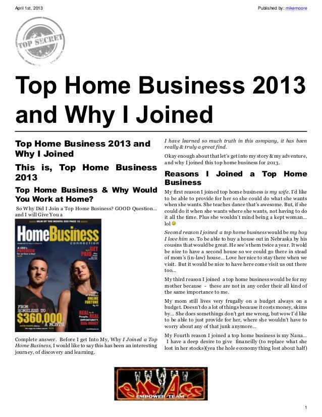 April 1st, 2013                                                                                            Published by: m...