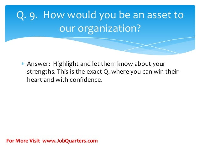how to answer what are your strengths