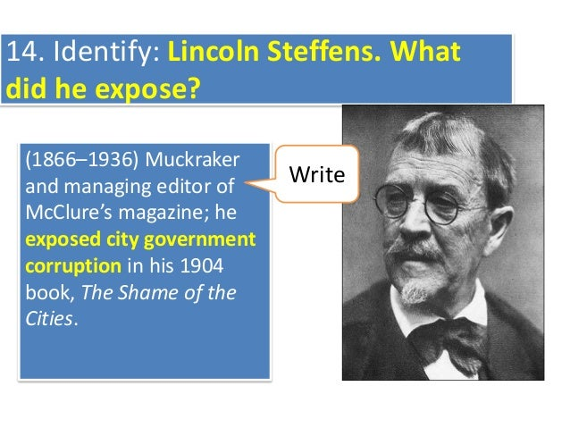 Topic 2 Muckrakers