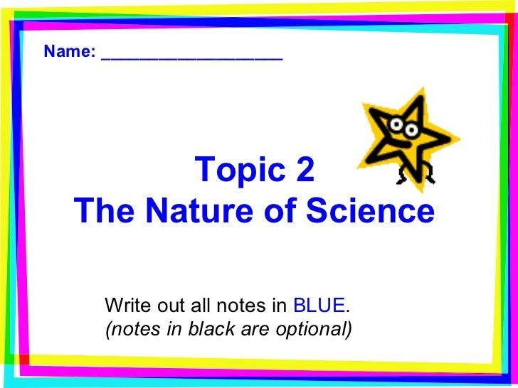 nature topic
