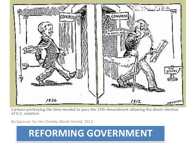 Topic 3 Reforms Progressives
