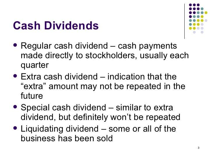 Liquidating dividends philippines
