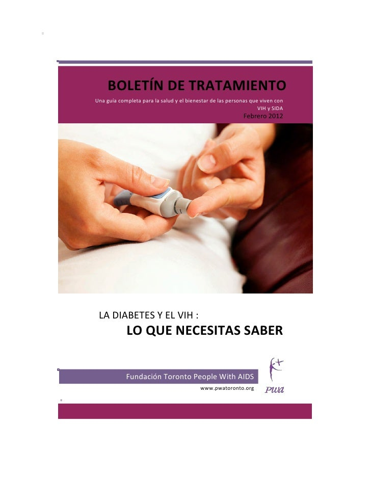 BOLETÍN DE TRATAMIENTO Una guía completa para la salud y el bienestar de las personas que ...