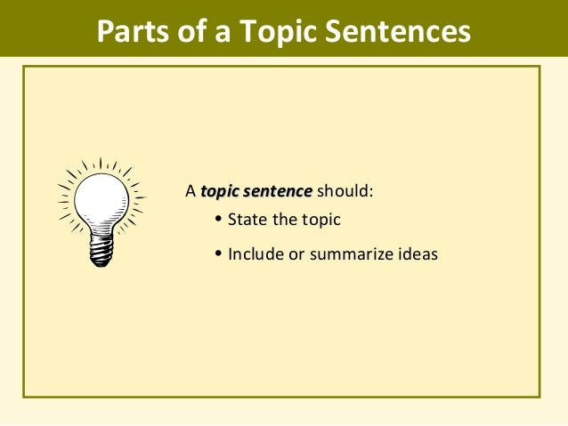 How to Write a Commentary  with Sample Commentaries    wikiHow Free Essays and Papers Topic Sentences Topic Sentences lt br