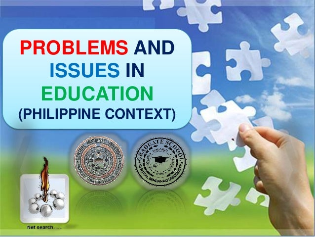 Current problems of educational development in