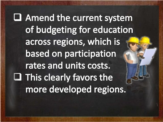 government issue on the education system There is a strong relationship between the kind of government and the system of  education that a country can have i expound more on the.